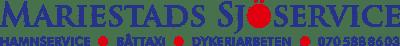 Mariestads sjÖservice AB Logotyp